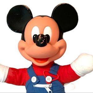 VTG Mickey Mouse Vtg 1989 Disney Plush Doll